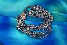Free Silver Imitation Jewelry Royalty Free Stock Image - 6895856