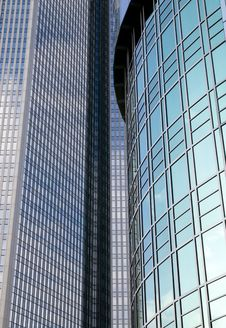 Free Background From Glass Building Royalty Free Stock Images - 6895919
