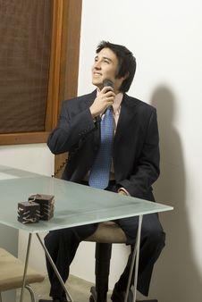 Free Man Shaving Stock Image - 6896011