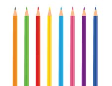 Free Vector Color Pencils Royalty Free Stock Image - 6896156