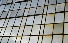 Free Glass Wall Of Business Center Royalty Free Stock Photography - 6896267