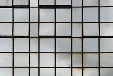 Free Glass Wall Of Business Center Stock Photography - 6896352