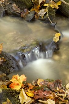Free Autumn Waterfall Stock Photos - 6896423