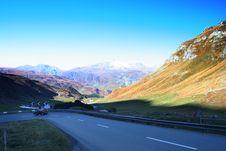 Free Alpine Road Stock Photography - 6896912
