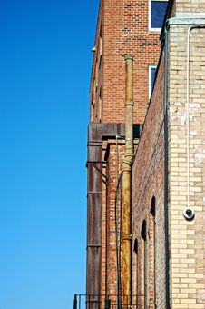 Free Old Brick Apartment Buildings Stock Images - 6897004