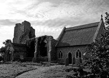 Free Ruined Church 1 Stock Images - 6897134
