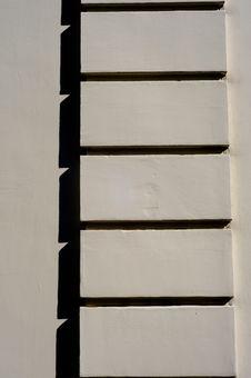 Free White Wall Detail Stock Photo - 6897520