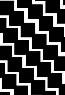 Free Black And White Zig Zag Background Stock Image - 6897791