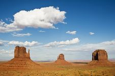 Free Monument Valley Royalty Free Stock Image - 6898276