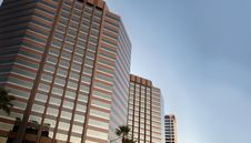 Free Tall Office Buildings Royalty Free Stock Images - 6898449