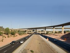 Free Freeway In Arizona Royalty Free Stock Photo - 6898605