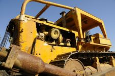 Free Bulldozer Equipment 2 Royalty Free Stock Photos - 6898638