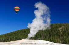 Free The Old Faithful Geyser In Yellowstone Stock Photos - 6898943
