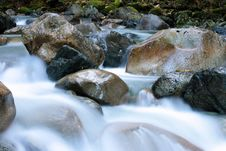Free Clear, Cold, Creek Royalty Free Stock Photography - 6899507