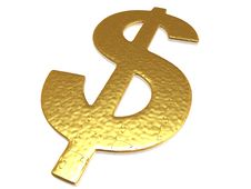 Free Golden Dollar Puzzle Stock Image - 6899761