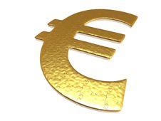 Free Golden Euro Puzzle Stock Photos - 6899883