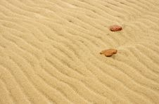 Free Sand And Stones Stock Image - 690011