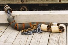 Free Dock Chain Stock Photos - 690633