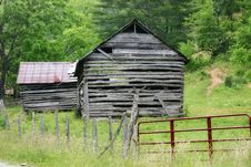 Free Very Old Barn Royalty Free Stock Photos - 690668