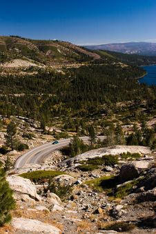 Free Windy Mountain Road Stock Image - 691141