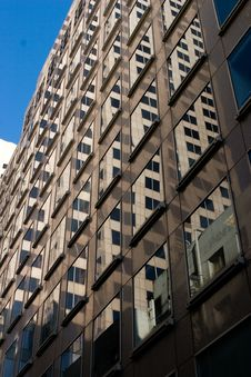 Free Office Building Windows2 Royalty Free Stock Images - 691159