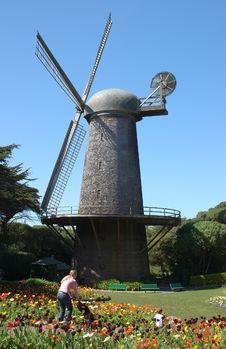Free Windmill Stock Photo - 691340
