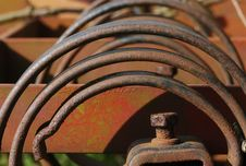 Free Rusty Farm Machinery Stock Images - 692314