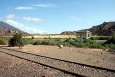 Free Abandoned Railway Royalty Free Stock Photography - 692907