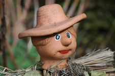Free Mini Scarecrow 2 Stock Images - 693254