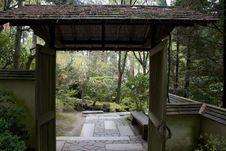 Free Japanese Garden Royalty Free Stock Photos - 693478