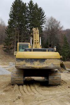 Free Excavator Stock Image - 694291