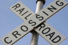 Free Railroad Crossing Stock Image - 694481