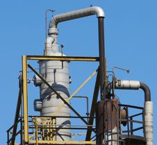 Free Industrial Plant Detail Stock Photography - 694492
