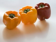 Free Red And Yellow Peppers Stock Images - 696434