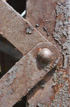 Free Railroad Bridge Detail Royalty Free Stock Images - 696829