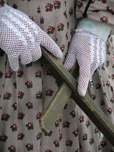 Free Lace Gloves Stock Photo - 697240
