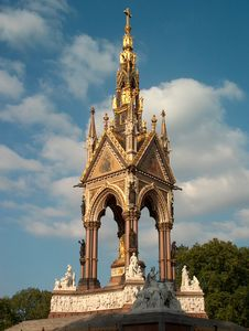 Free The Albert Memorial Royalty Free Stock Photography - 698267