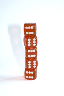 Free Red Dice Stock Images - 698454