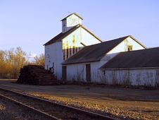 Free Old Railroad Station Stock Photo - 699190