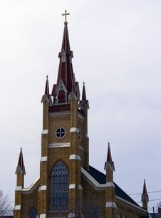 Free Ornate Church With Steeple Stock Images - 699194
