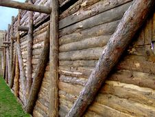 Free Wooden Construction And Grass Royalty Free Stock Image - 699346