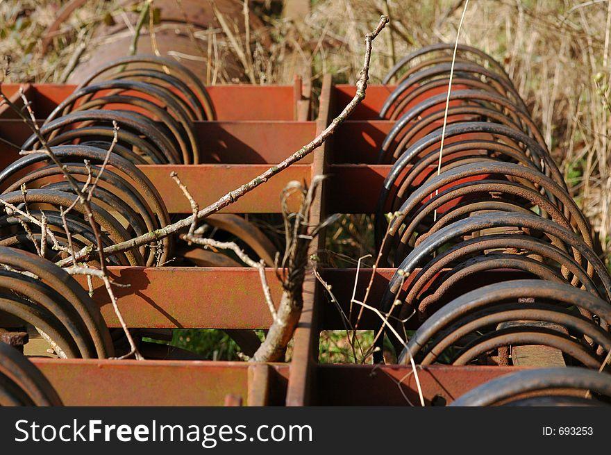 Rusty Farm Machinery