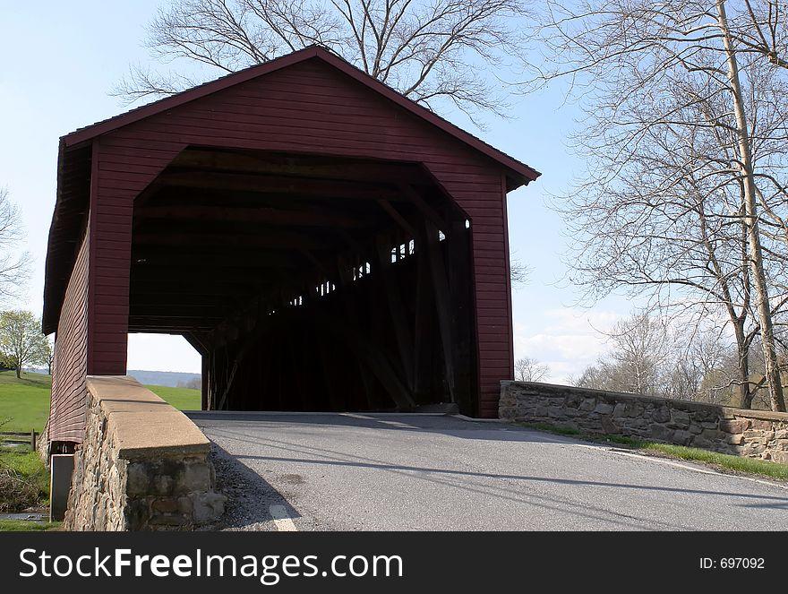 Ustica Mills Covered Bridge