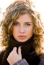 Free Closeup Portrait Of Young Blond Woman Stock Photo - 6900470