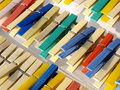 Free Clothespin On Drying Room Royalty Free Stock Image - 6901146