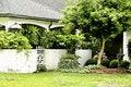 Free Covered Porch And Garden Stock Photos - 6901563
