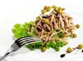 Free Green Peas And Meat Salad Stock Images - 6906504