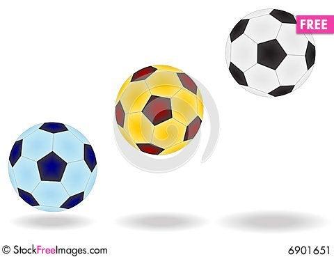 Free Soccer Balls Stock Image - 6901651