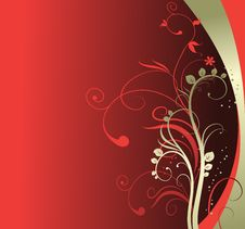 Free Abstract Floral Background Royalty Free Stock Photography - 6900327