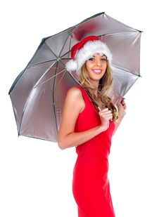 Free Santa Girl Stock Photo - 6900590